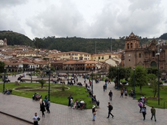Plaza de armas - the main square in Cusco