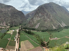 Panoramic view of Sacred Valley