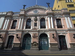 Old post office in historic Lima
