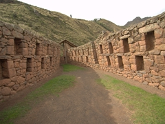 The Sacred Valley's best Incan ruins can be found at Pisac