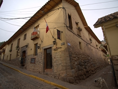 Typical building in historical Cusco