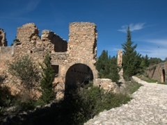 Venetian Castle ruins; Assos