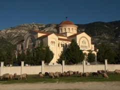 Monastery of Agios Gerasimos. Too bad it was closed because the interior frescoes are supposed to be a sight to behold!