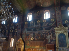 Interior frescoes of the Church of Agios Gerasimos