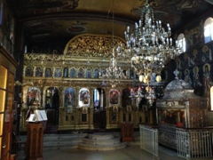 Interior of the Church of Agios Gerasimos