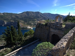 An amazing vista from the Fortress of Assos