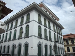 Beautiful buildings in Casco Viejo