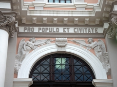 Detail of the old municipal palace of Panama; Casco Viejo