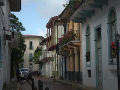 Walking the narrow streets of Casco Viejo is a must do if visiting Panama City