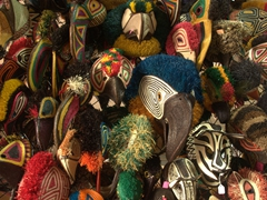 Indigenous masks for sale