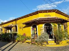 Our wonderful lodging in Suchitoto - Casa de la Abuela