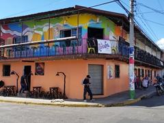 La Rumba cafe; Juayua