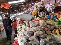Market section of Juayua