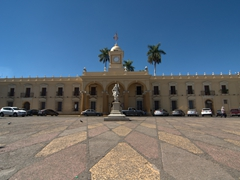 City hall; Santa Ana