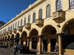 "Colonial era ""portal de occidente"" (West Portal); San Salvador"