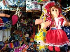 Souvenirs for sale; Suchitoto