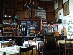 Cafe at Casa de la Abuela; Suchitoto