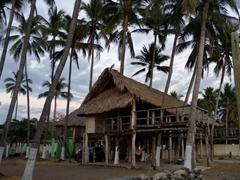 Local beach hut; El Tunco
