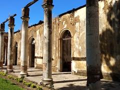 Ruins of the school of arts; Santa Ana