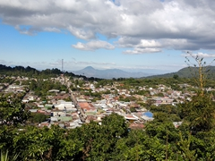 View overlooking Ataco from the Mirador de La Cruz