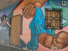 Ataco is famous for its numerous wall murals