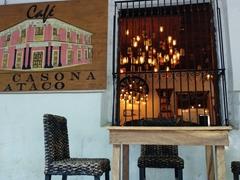La Casona cafe; Ataco