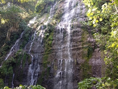 Another of the spectacular waterfalls on the 7 Waterfalls Hike; Juayua