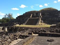 The Maya archeological site of Tazumal; Chalchuapa