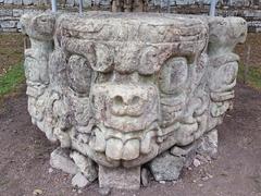 Stone carving, Copan Ruins