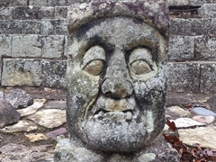 Toothless old man of Copan