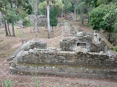 Royal residence group; Copan Ruins