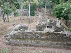 Royal residence group; Copan Ruins