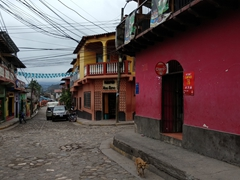The sleepy charming town of Copán