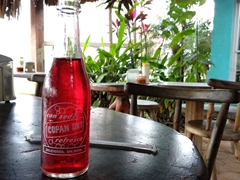 Copan Dry, a local soft drink from Honduras