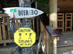 Beer signs; West End