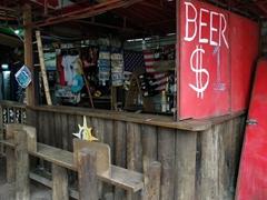 $1 beer shack; West End