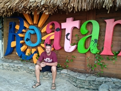 Robby in Roatan; West Bay