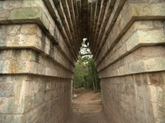 Archway of the ball court; Copan Ruins