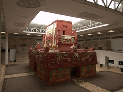 Replica of the Rosalila temple; Copan Sculpture Museum