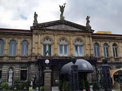 The National Theater of Costa Rica, considered the finest historic building in the capital
