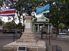 Simón Bolívar statue in Morazán Park; San Jose