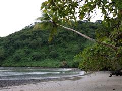 Beach on Cocos Island
