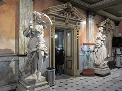 Interior lobby; National Theater