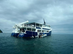 Okeanos Agressor II - our home for 10 days