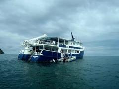 Okeanos Agressor II - our home for 10 days