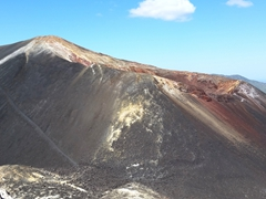 Cerro Negro is an active volcano, and is the youngest (newest) volcano in Central America