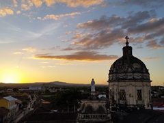 Climbing the bell tower of Iglesia La Merced is a must do at sunset; Granada