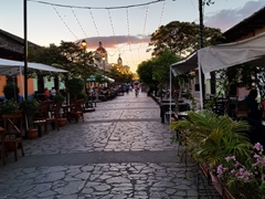 Every evening at sunset, we would walk up and down Calle La Calzada in search of happy hour; Granada