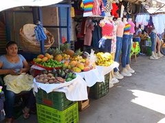 Granada market scene