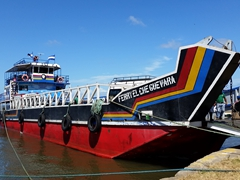 Ferry El Che Guevara, our ride across Lake Nicaragua